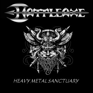 BATTLEAXE Heavy Metal Sanctuary PRINT